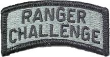 Ranger Challenge tab.